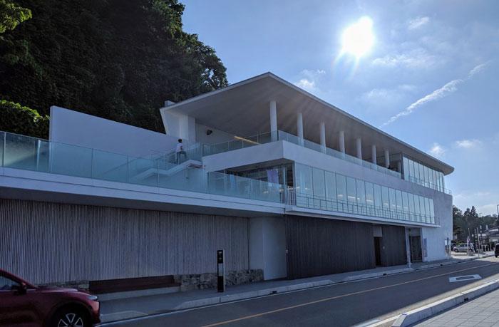 道の駅 雨晴(あまはらし)に行ってみた。富山県高岡市の絶景